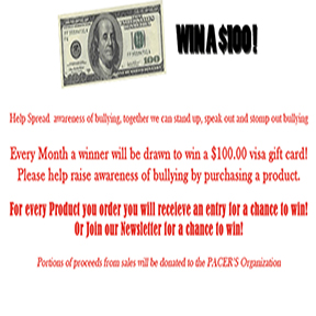 Enter to win a $100 Visa Gift Card